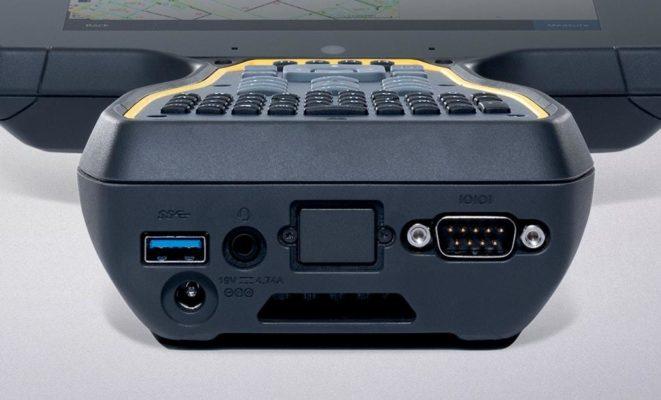 Trimble TSC7:ssä on monipuoliset tietoliikenneyhteydet