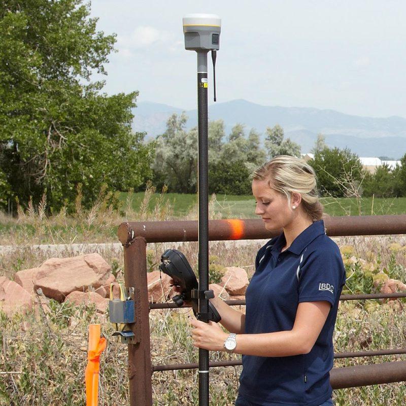 Trimble R10 GNSS-vastaanotin, kartoitus
