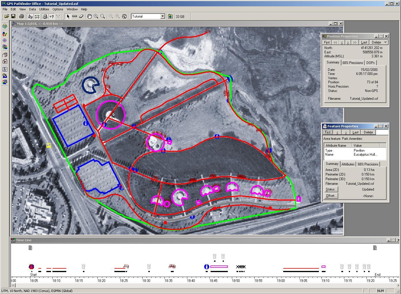 GPS Pathfinder Office -ohjelmisto