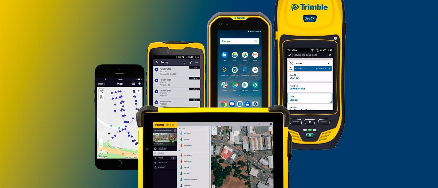Trimble TerraFlex Paikkatieto-ohjelmisto